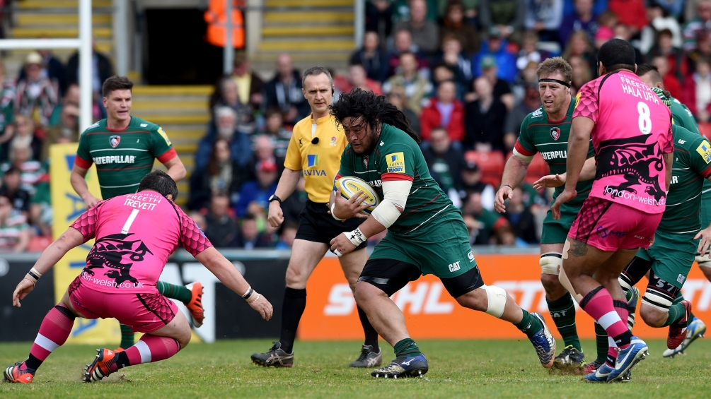Leicester Tigers 38 London Welsh 17