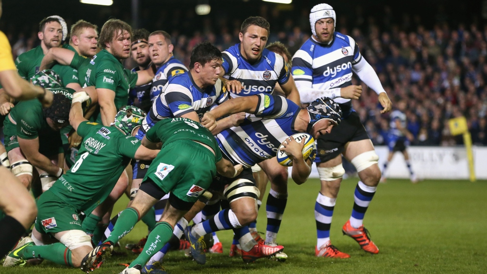 Bath Rugby 43 London Irish 18