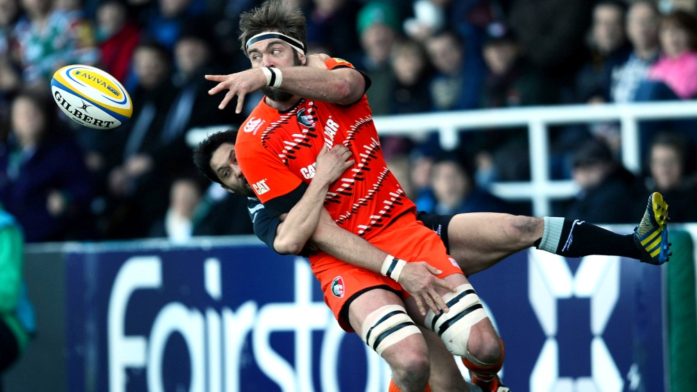 Newcastle Falcons 12 Leicester Tigers 16
