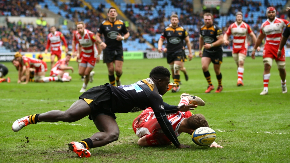 Wasps 32 Gloucester Rugby 21