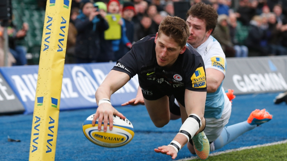 Saracens 22 Newcastle Falcons 17