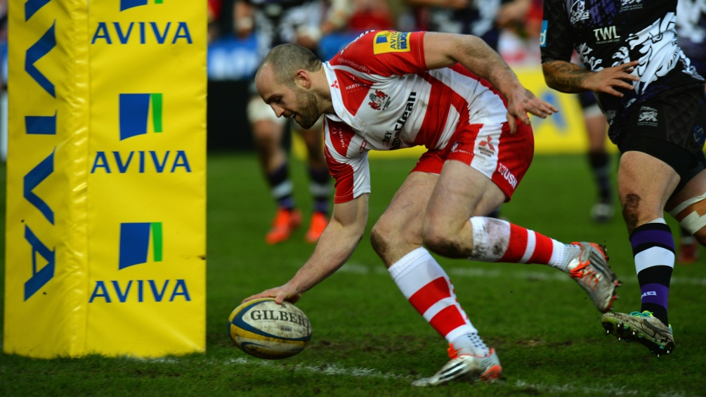 Gloucester Rugby 48 London Welsh 10