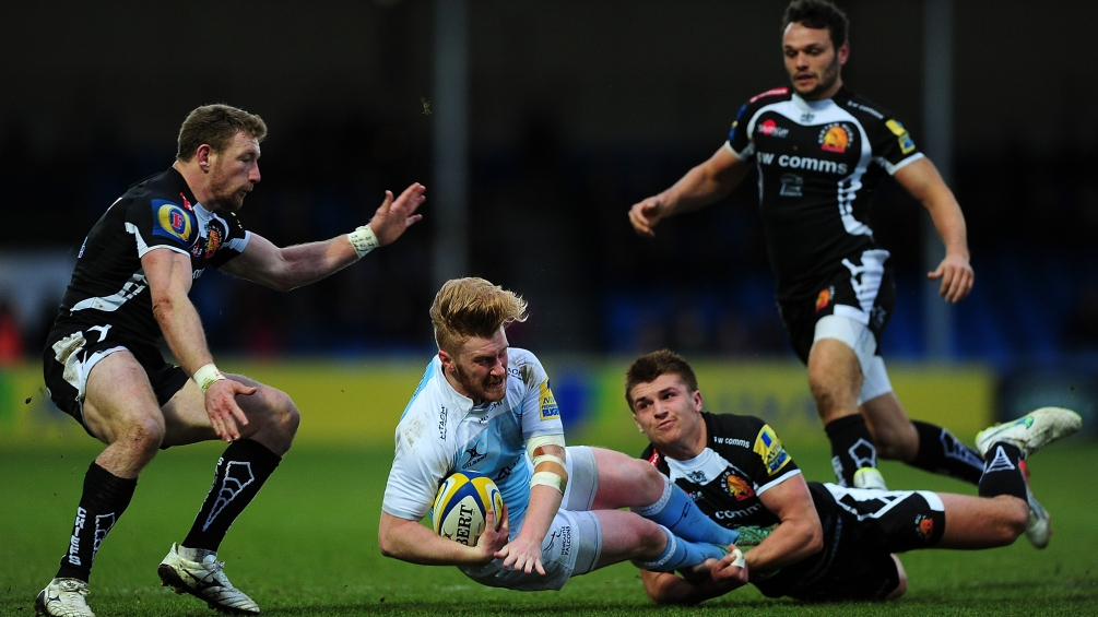 Exeter Chiefs 46 Newcastle Falcons 17