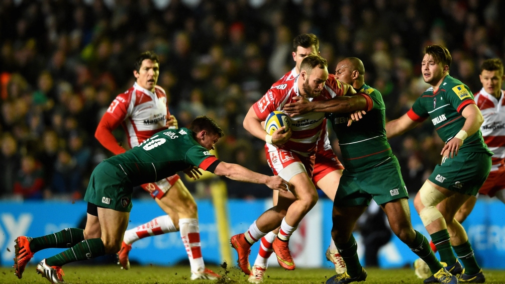 Leicester Tigers 18 Gloucester Rugby 15