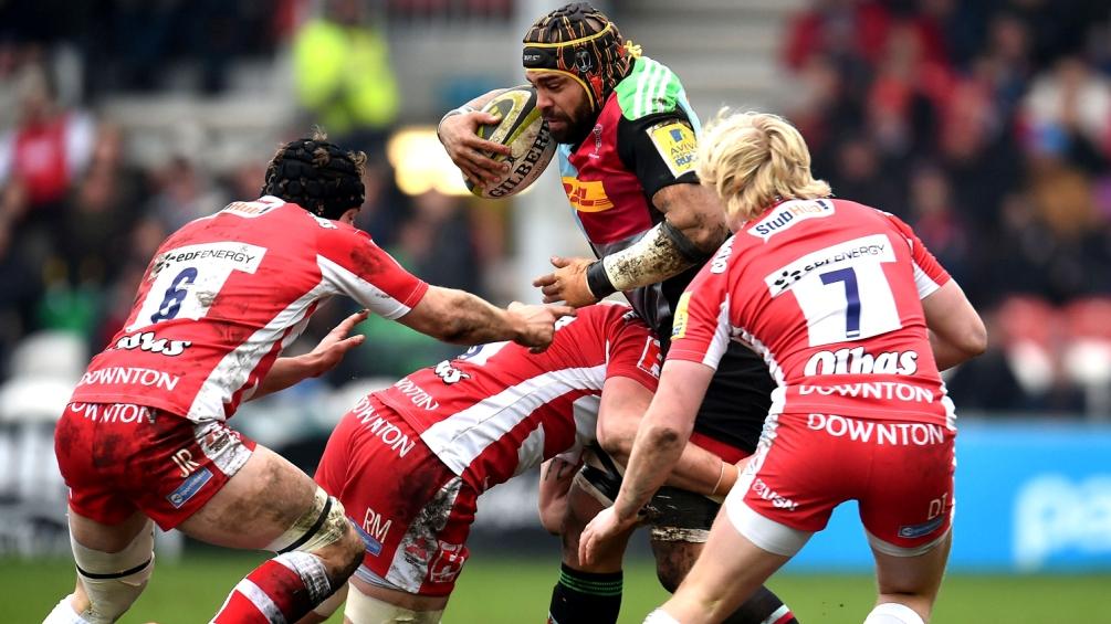 Gloucester Rugby 25 Harlequins 7