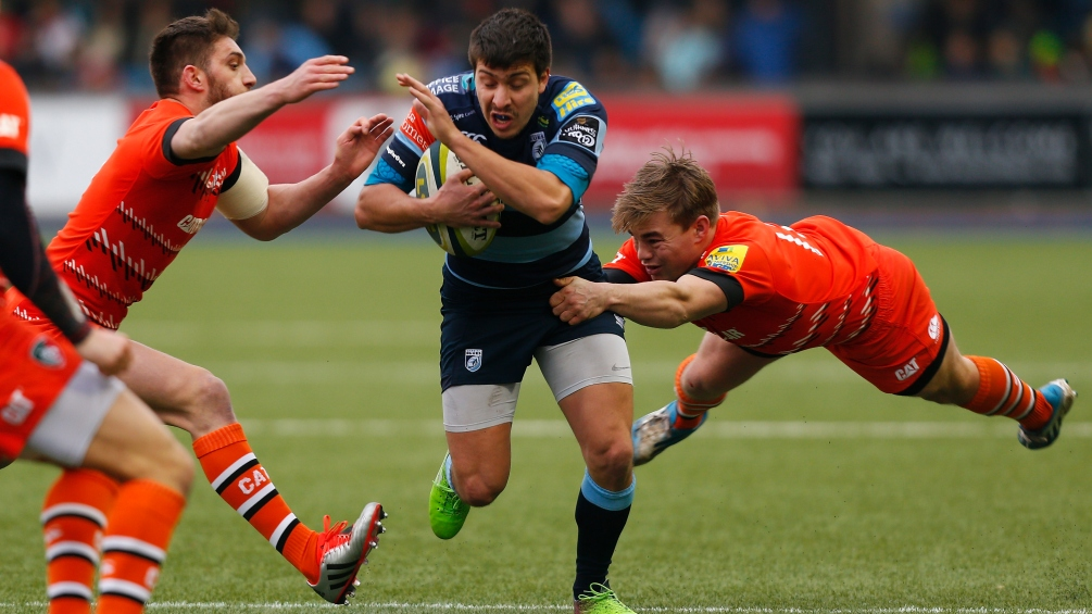 Cardiff Blues 9 Leicester Tigers 43