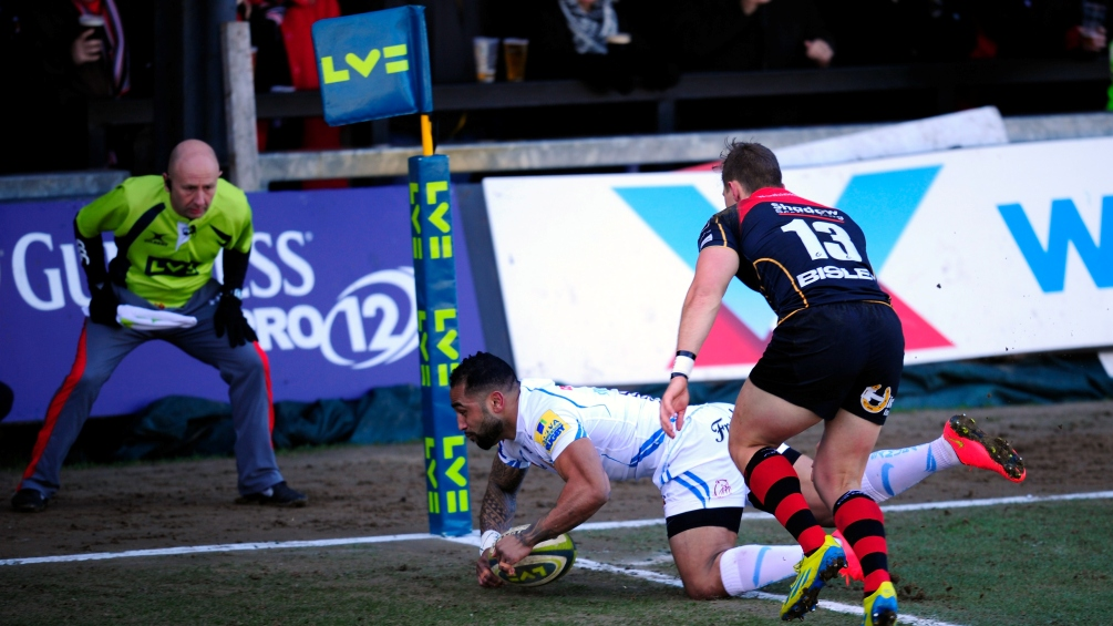 Newport Gwent Dragons 32 Exeter Chiefs 37