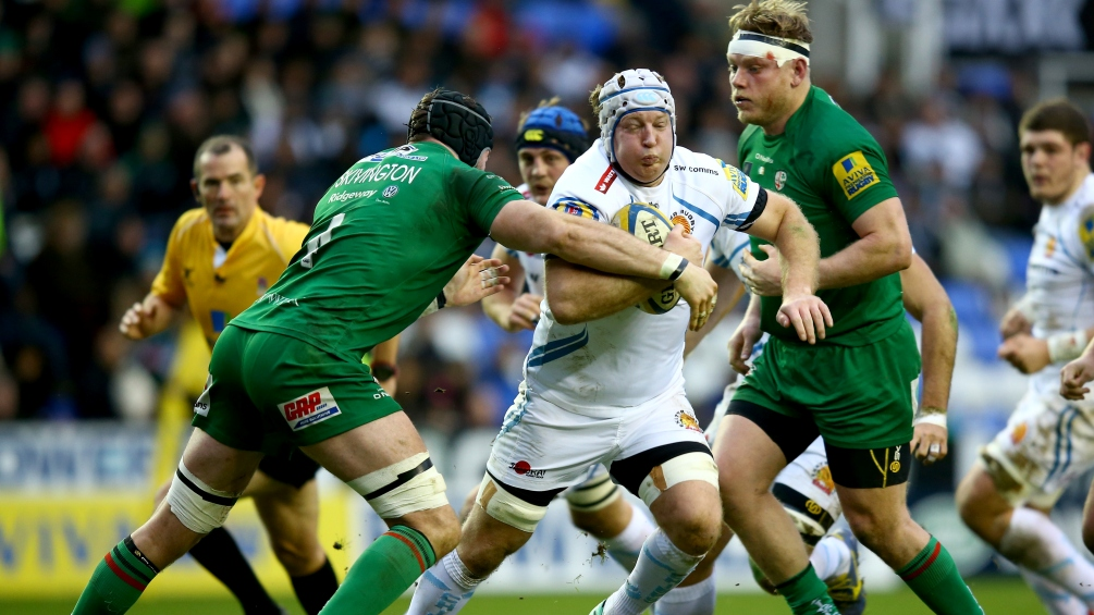 London Irish 28 Exeter Chiefs 26