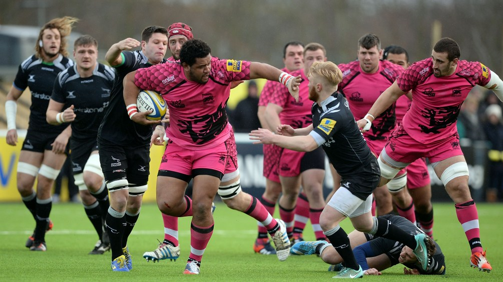 Newcastle Falcons 38 London Welsh 7