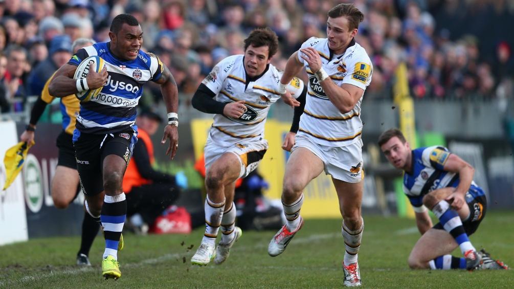 Bath Rugby 39 Wasps 26