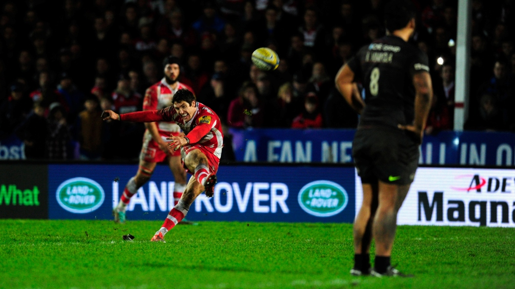 Gloucester Rugby 24 Saracens 23