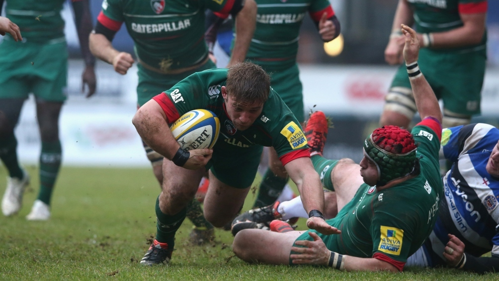 Leicester Tigers 17 Bath Rugby 8
