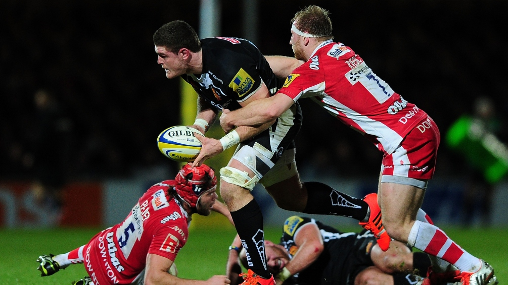Exeter Chiefs 25 Gloucester Rugby 26