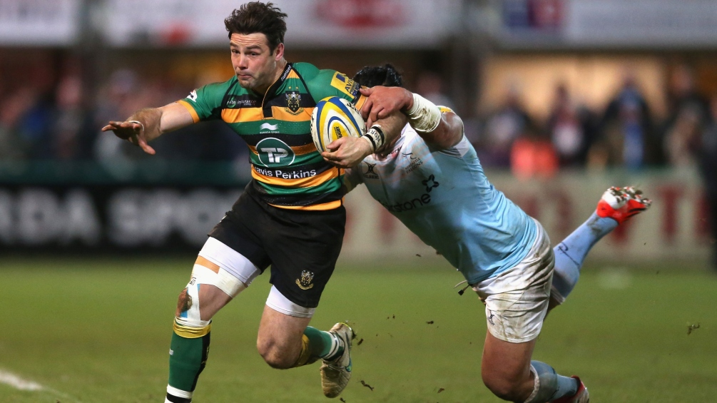 Northampton Saints 39 Newcastle Falcons 31