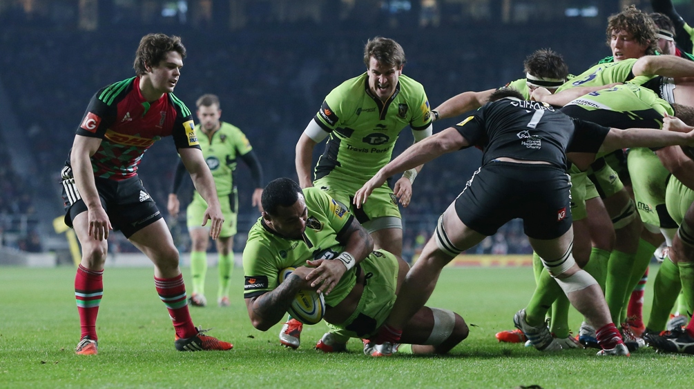Harlequins 25 Northampton Saints 30
