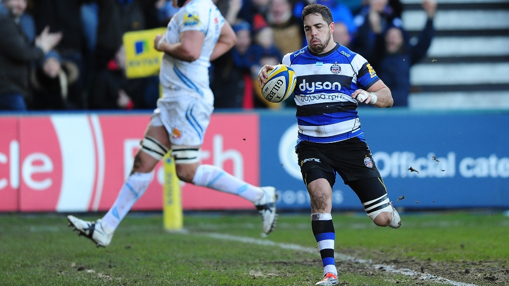 Bath Rugby 31 Exeter Chiefs 14