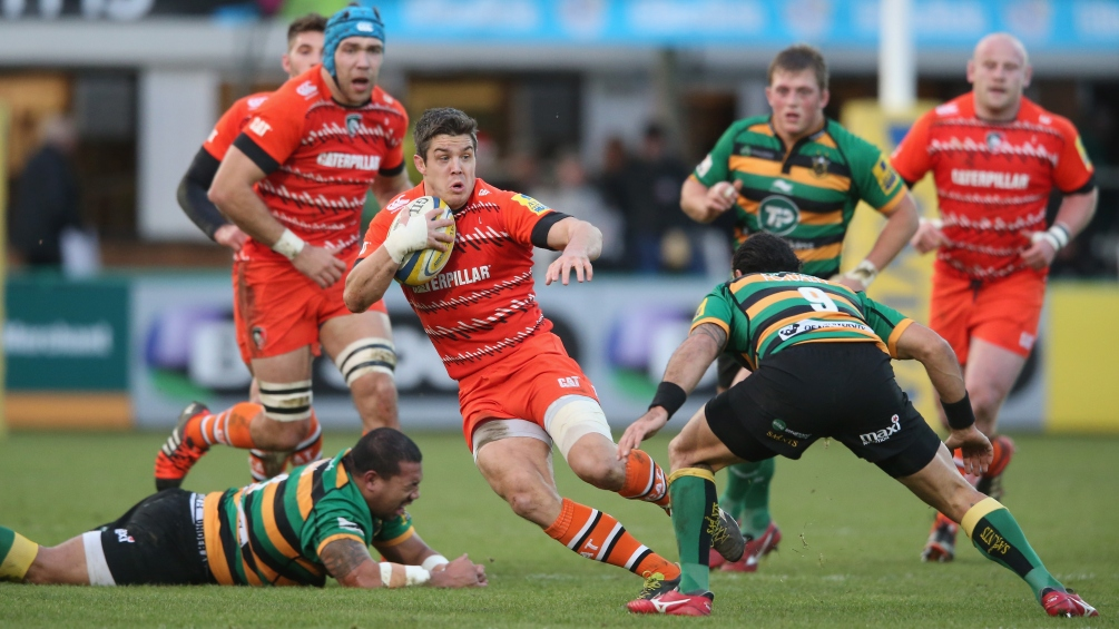 Northampton Saints 23 Leicester Tigers 19