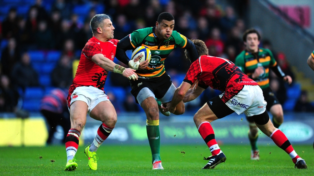 London Welsh 14 Northampton Saints 43