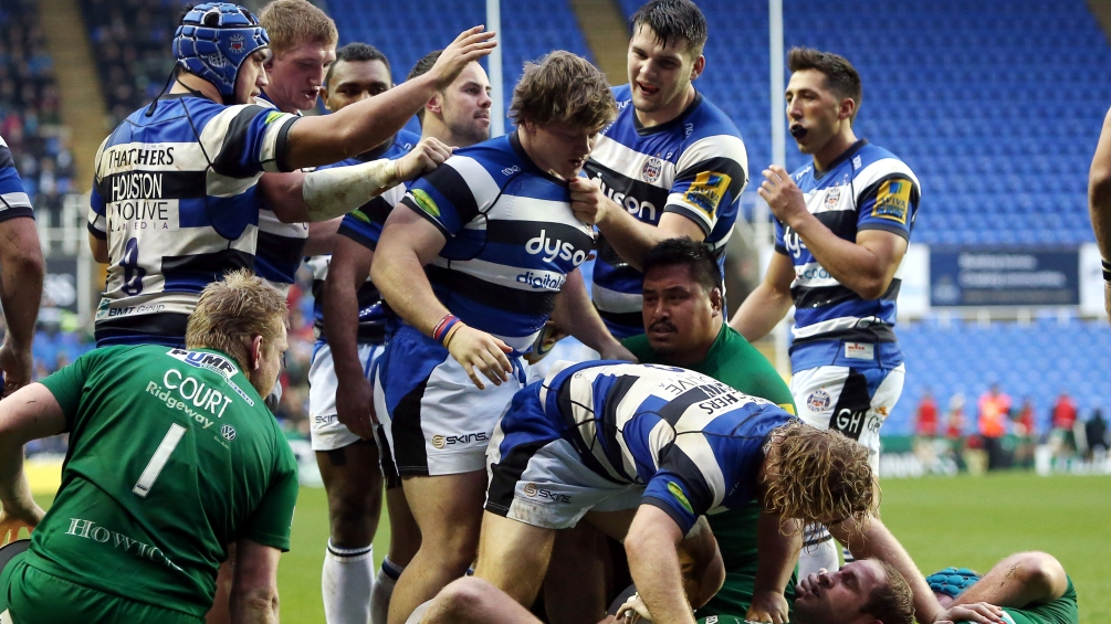 London Irish 23 Bath Rugby 33