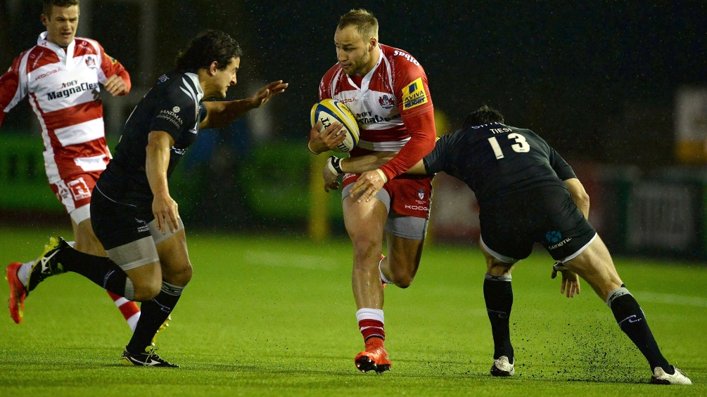Newcastle Falcons 20 Gloucester Rugby 10