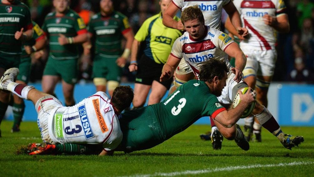 Leicester Tigers 29 Sale Sharks 13