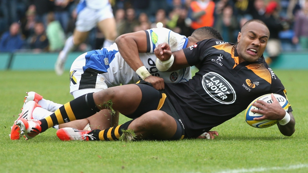 Wasps 29 Bath Rugby 22