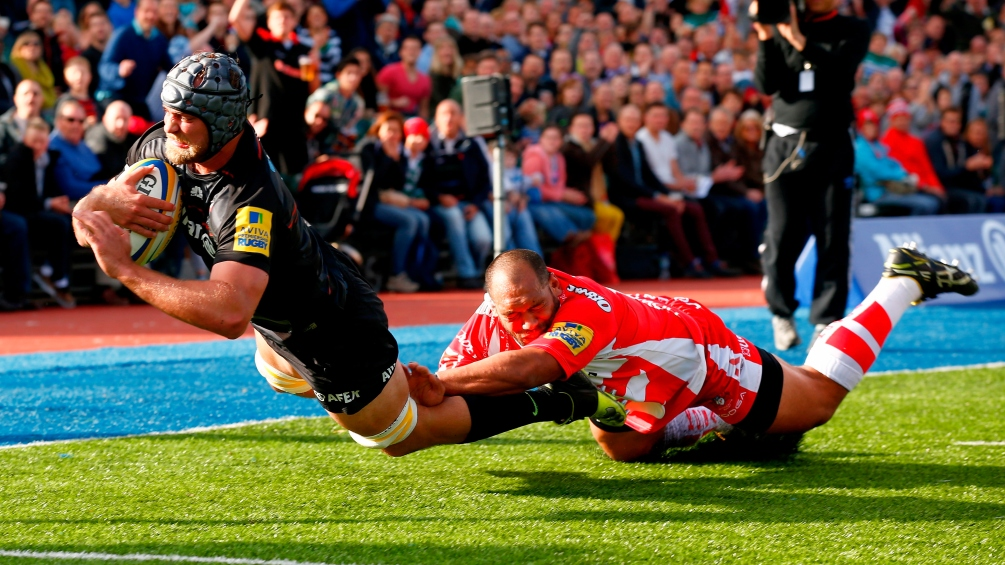 Saracens 28 Gloucester Rugby 21