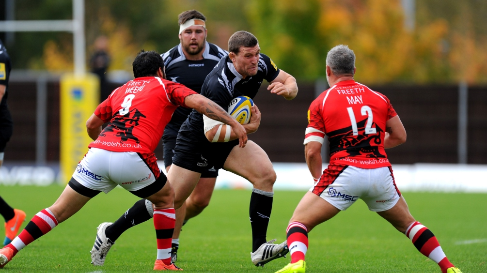 London Welsh 3 Newcastle Falcons 23