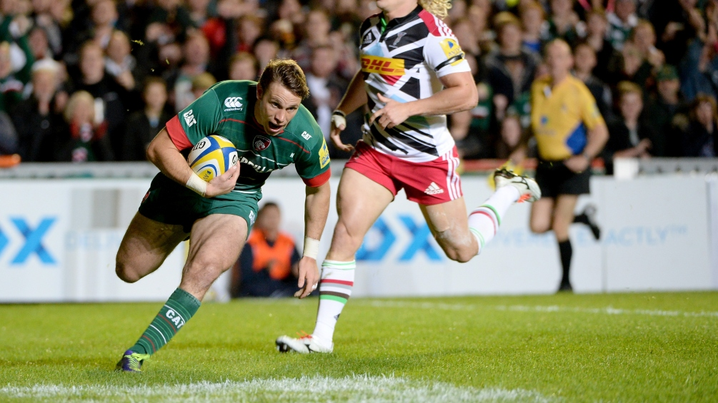 Leicester Tigers 22 Harlequins 16