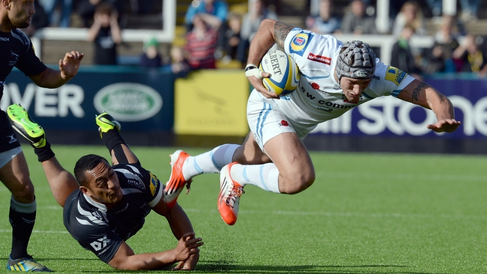Newcastle Falcons 29 Exeter Chiefs 24