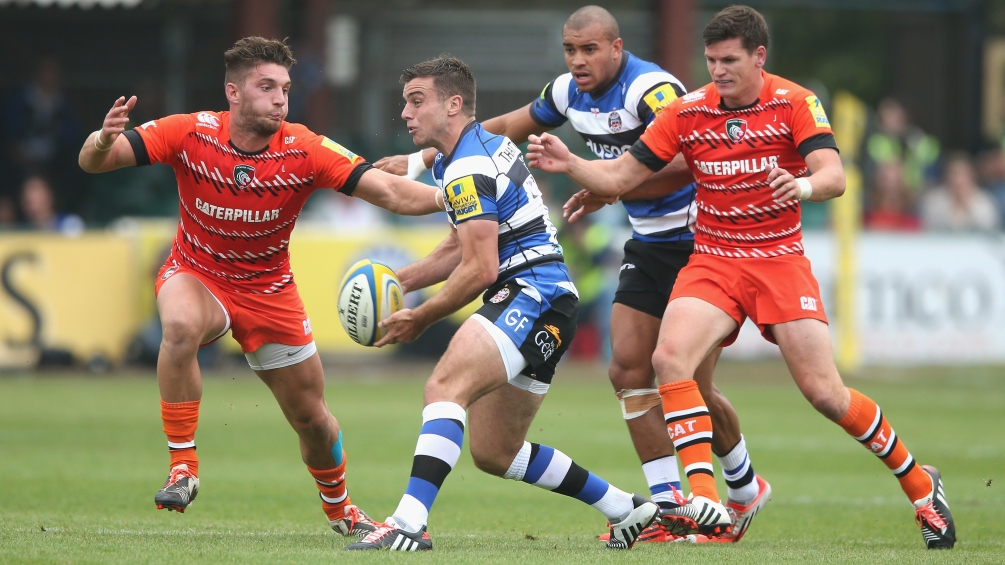 Bath Rugby 45 Leicester Tigers 0