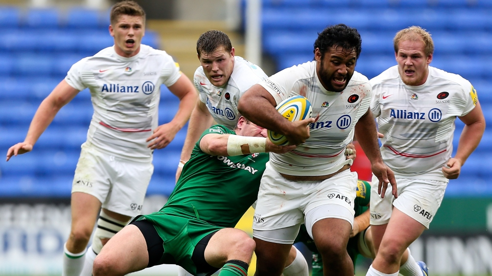 London Irish 32 Saracens 36