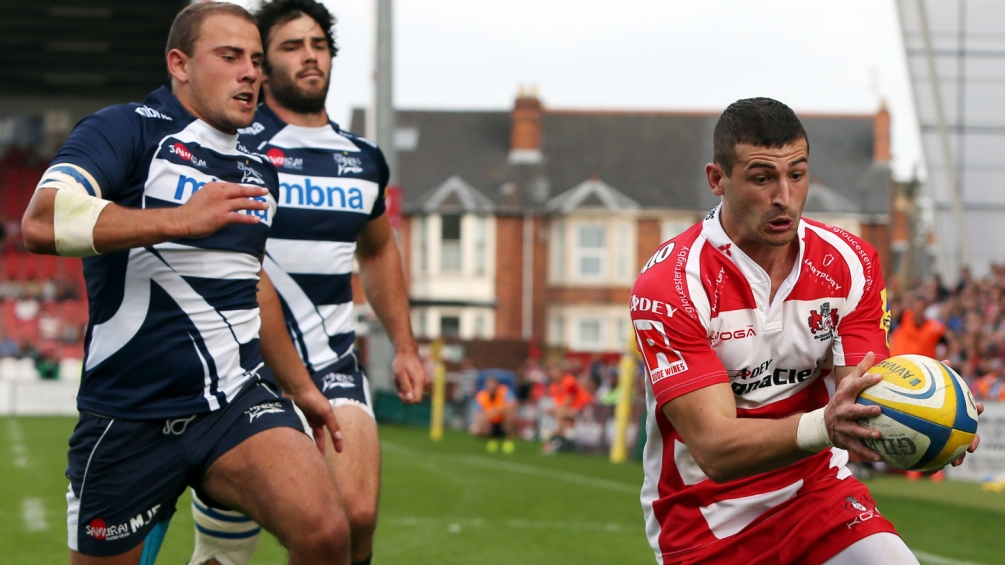 Gloucester Rugby 34 Sale Sharks 27