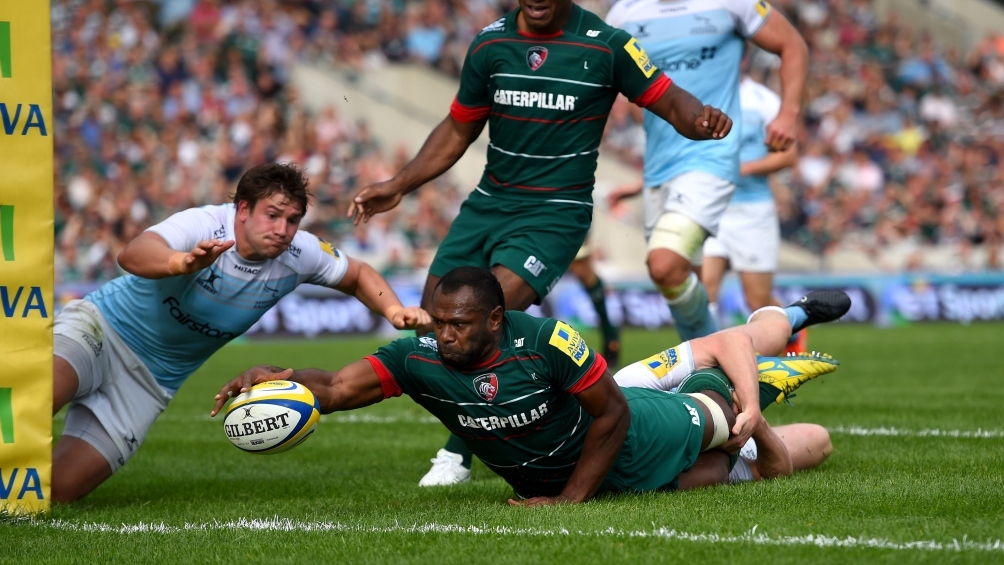 Leicester Tigers 36 Newcastle Falcons 17