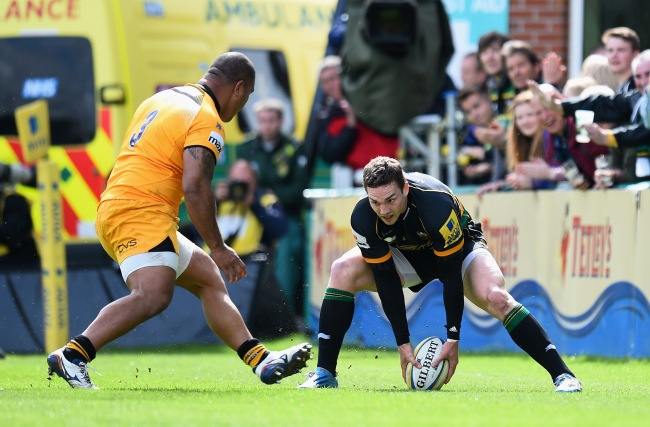 Northampton Saints 74 London Wasps 13