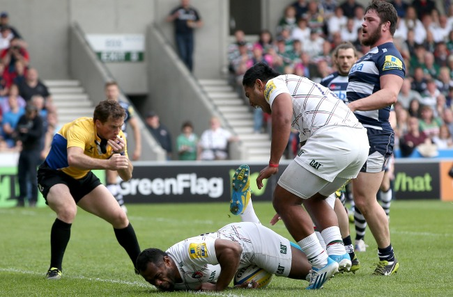 Sale Sharks 22 Leicester Tigers 42