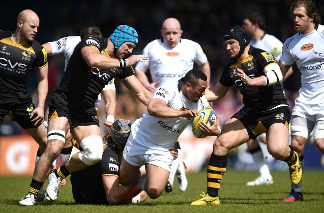 London Wasps 44 Newcastle Falcons 38