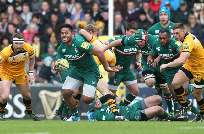 Leicester 27 Tigers London Wasps 15