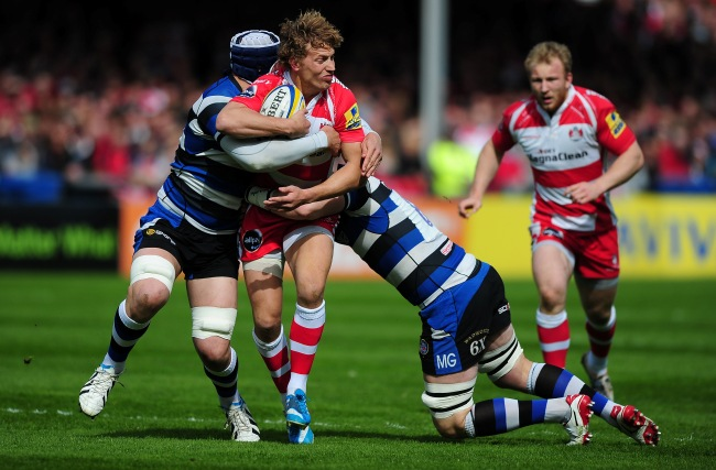 Gloucester Rugby 17 Bath Rugby 18