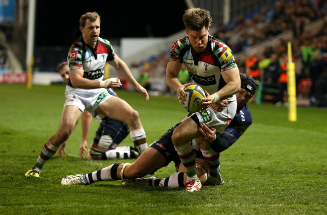 Sale Sharks 12 Harlequins 27
