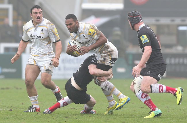 Newcastle Falcons 12 Worcester Warriors 17