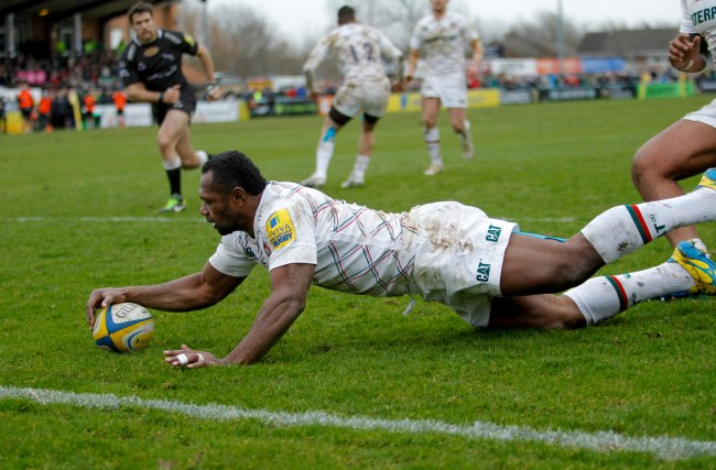 Newcastle Falcons 18 Leicester Tigers 41