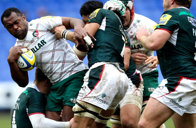 London Irish 15 Leicester Tigers 20
