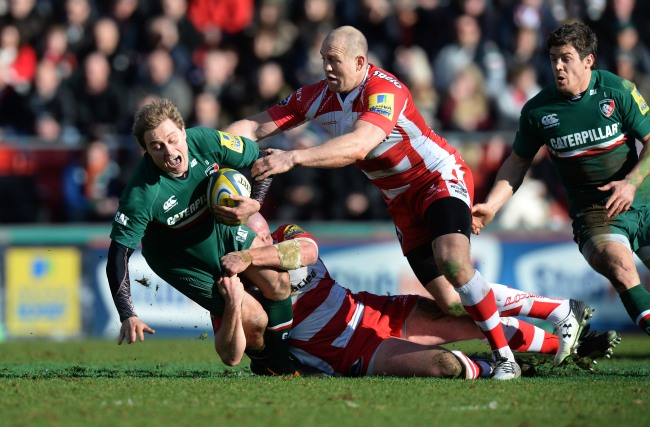 Leicester Tigers 11 Gloucester Rugby 8