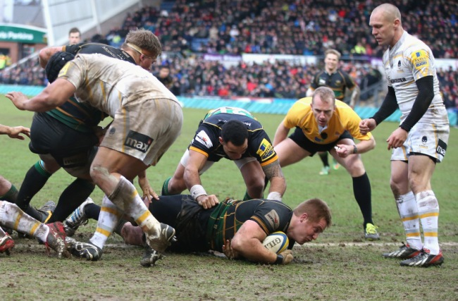 Northampton Saints 30 Worcester Warriors 14