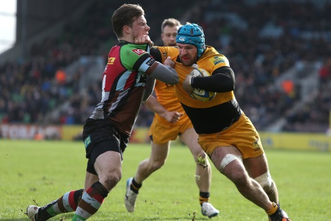 Harlequins 11 London Wasps 10