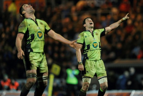 Exeter Chiefs 16 Northampton Saints 17