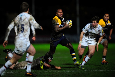 Worcester Warriors 22 Leicester Tigers 23