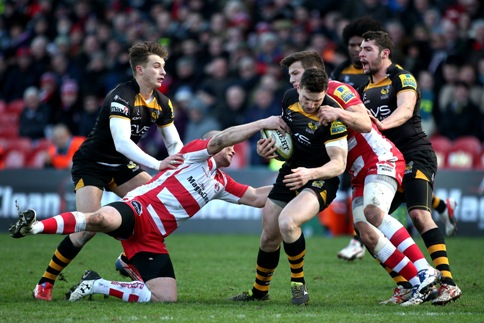 Gloucester Rugby 36 London Wasps 5