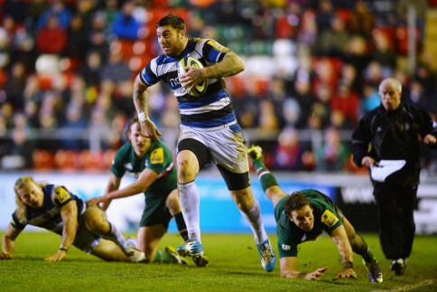 Leicester Tigers 17 Bath Rugby 35